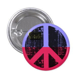 Peace In Lichtenstein 3 Cm Round Badge