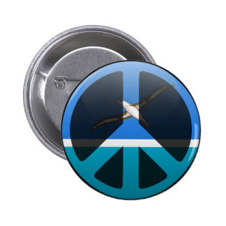 Peace in Midway Islands Button