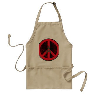Peace In Morocco Aprons
