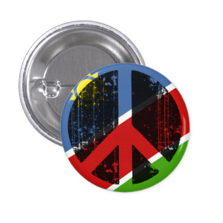 Peace In Namibia 3 Cm Round Badge