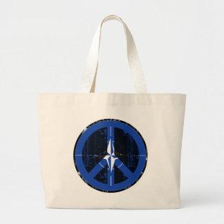 Peace In Nato Tote Bag