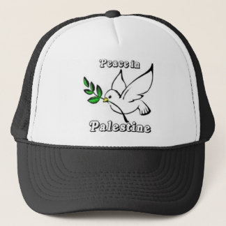 Peace in Palestine Dove Hat