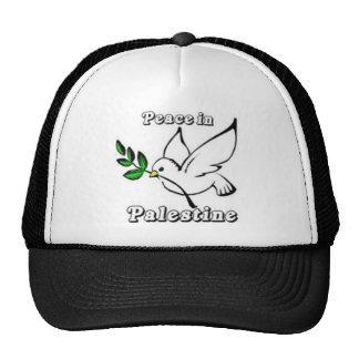 Peace in Palestine Dove Hat