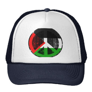 Peace In Palestine Mesh Hats