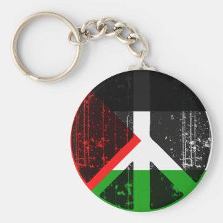 Peace In Palestine Key Ring