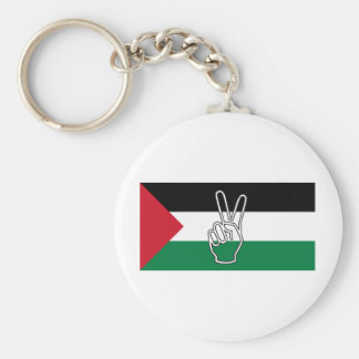 Peace in Palestine Key Ring