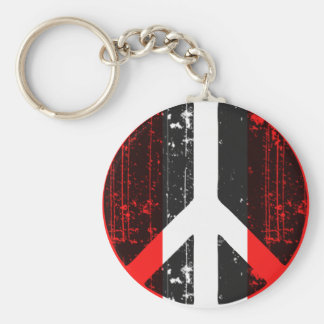 Peace In Peru Key Ring