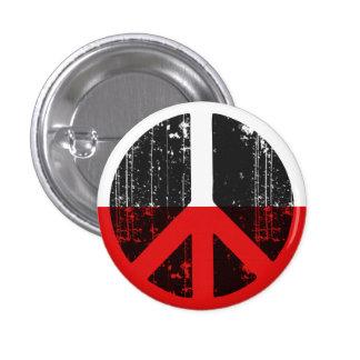 Peace In Poland 3 Cm Round Badge