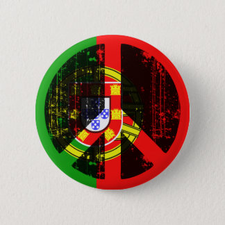 Peace In Portugal 6 Cm Round Badge