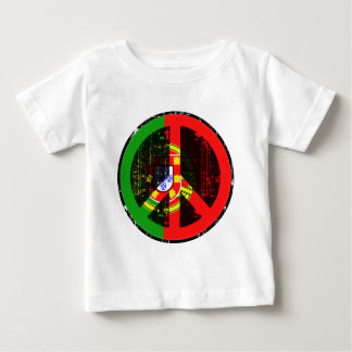 Peace In Portugal Baby T-Shirt