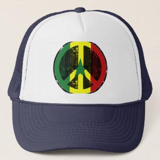 Peace In Senegal Trucker Hat