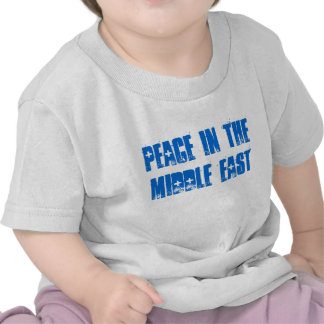 PEACE in the MIDDLE EAST TODDLER TEE