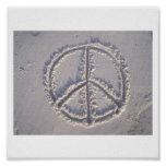 Peace in the Sand Poster