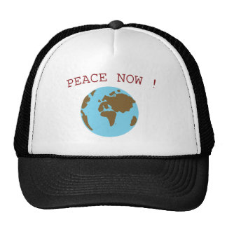 Peace in the World Mesh Hat