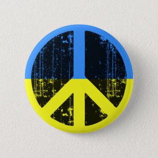 Peace In Ukraine 6 Cm Round Badge
