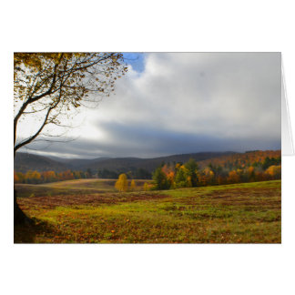Peace in Vermont Note Card