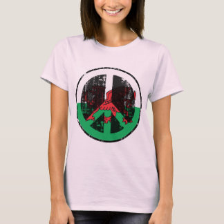 Peace In Welsh T-Shirt