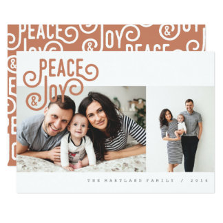 PEACE + JOY CARD