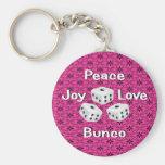peace,joy,love,bunco