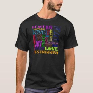 Peace Joy Love Happiness T-Shirt
