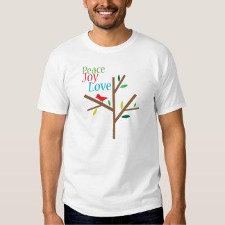 Peace Joy Love Holiday T-shirt