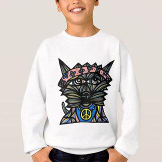 """Peace Kat"" Kids' Hanes Sweatshirt"