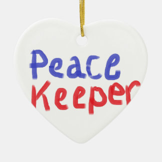 Peace keeper merchandise christmas ornament