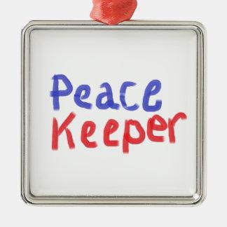 Peace keeper merchandise christmas ornament