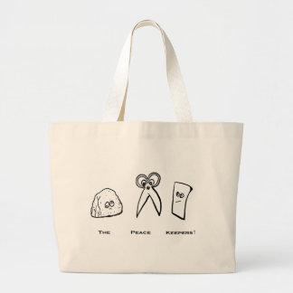 Peace Keepers Collection Large Tote Bag