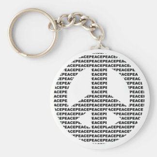 peace key ring