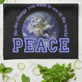 PEACE kitchen towels