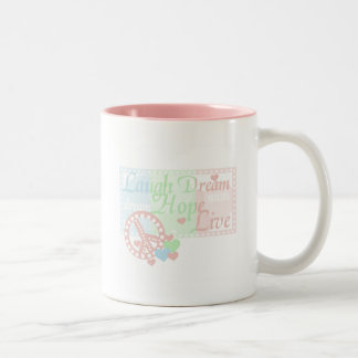 Peace Laugh Dream Love Hope Tshirts and Gifts Coffee Mugs