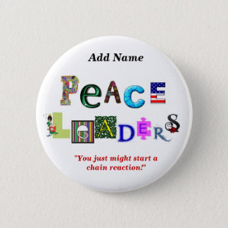 Peace Leaders Button