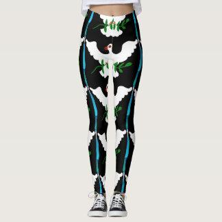#peace leggings by DAL