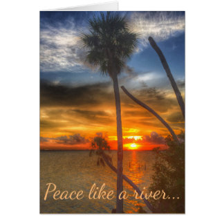Peace Like a River note card