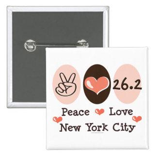 Peace Love 26 2 Button
