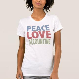 Peace Love Accounting T-Shirt