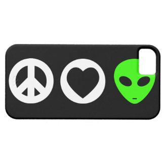 Peace Love Alien iPhone 5 Cases