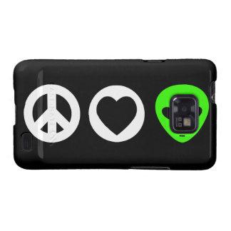 Peace Love Alien Samsung Galaxy S2 Covers
