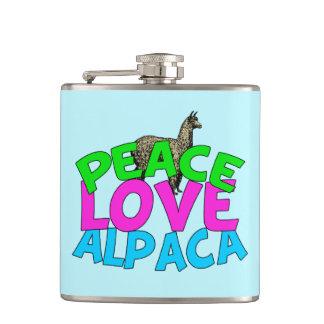 Peace Love Alpacas Flasks
