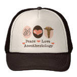 Peace Love Anaesthesiology Hat