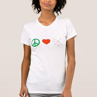 Peace Love and Economics T-Shirt