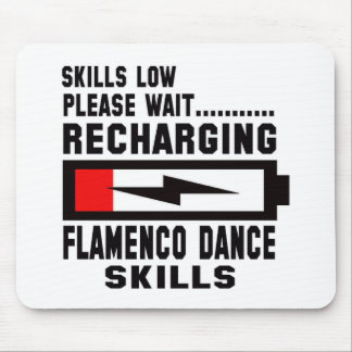 Peace Love And Flamenco Dance Mouse Pad