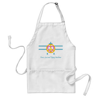 Peace,  Love and Flying Machines Standard Apron