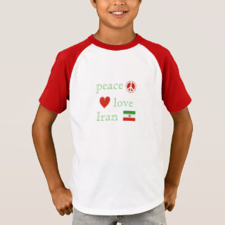 Peace Love and Iran children's T-Shirt