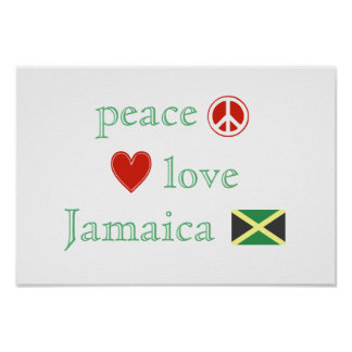 Peace Love and Jamaica Poster