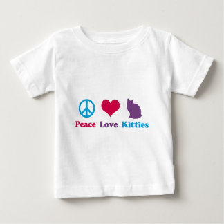 Peace, Love and Kitties T-shirts