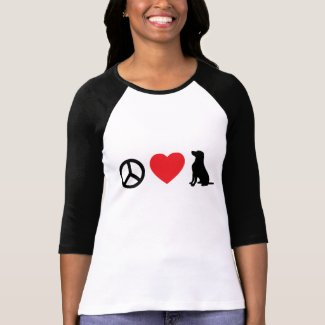 Peace,Love and Labs T-Shirt