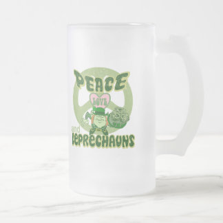 Peace Love and Leprechauns Mugs