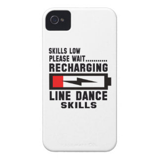 Peace Love And Line Dance iPhone 4 Covers